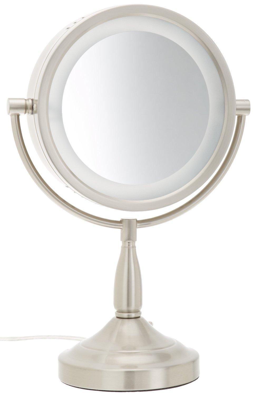 Amazon Com Jerdon Lt856n 8 5 Inch Lighted Vanity Mirror