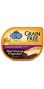 grain free wet dog food
