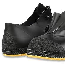 Servus SuperFit 4quot; PVC Dual-Compound Slip-On Men's Overshoes, durable overshoes