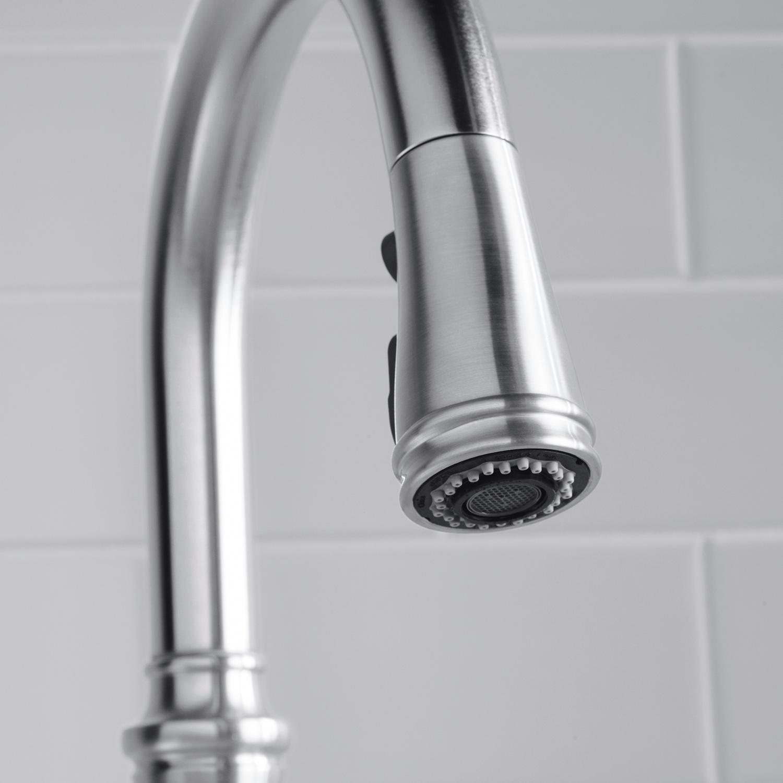 Kohler K 560 Cp Bellera Pull Down Kitchen Faucet Polished