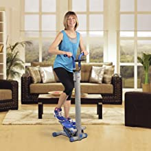 exercise machine aerobic cardio step stride walking fitness mini stepper master small compact tone