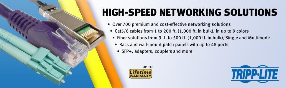 TRIPP LITE Cat6 Gigabit Snagless Molded Patch Cable RJ45 50 Pack N201-003-BK50BP 3