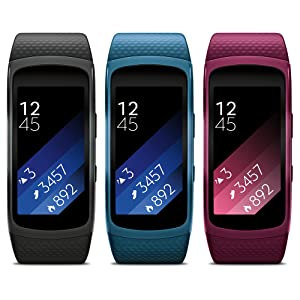 Gear Fit2 available in three colors
