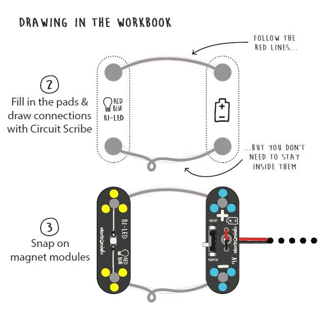 Amazon Com  Circuit Scribe Mini Kit  U2013 Create Your Own Circuits Instantly  Includes Everything