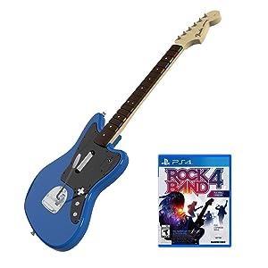 Rock Band Rivals Jaguar Bundle Game and Guitar for PlayStation 4