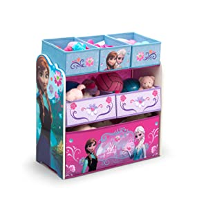 toy, box, bin, storage, playroom, play, room, disney, nick, spider-man, frozen, anna, elsa, dora