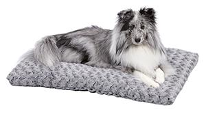 Light Grey to Charcoal Ombre Pet Bed