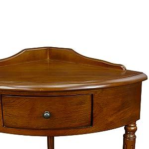 Charmant Corner Table, Hall Table, Corner Hall Table, Hall Console, Corner Hall  Console