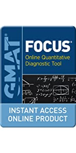 GMAT Focus Online Quantitative Diagnostic Tool