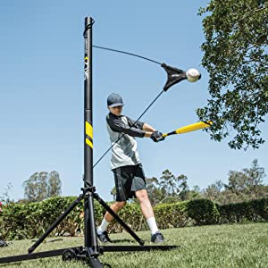 Amazon Com Sklz Hit A Way Portable Baseball Training