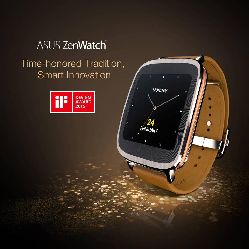 Zenwatch Is The First Asus Watch With Android Wear