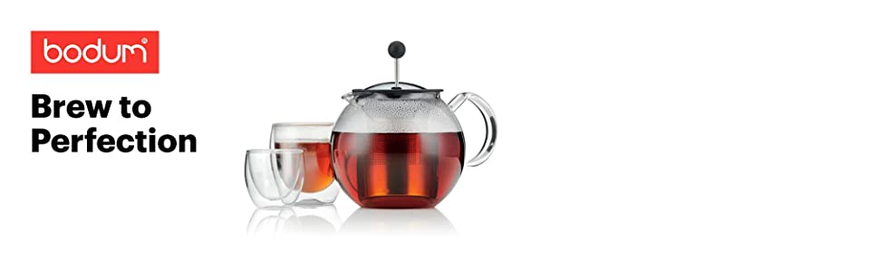 Amazon Bodum 1801 16us4 Assam Teapot Glass Teapot With