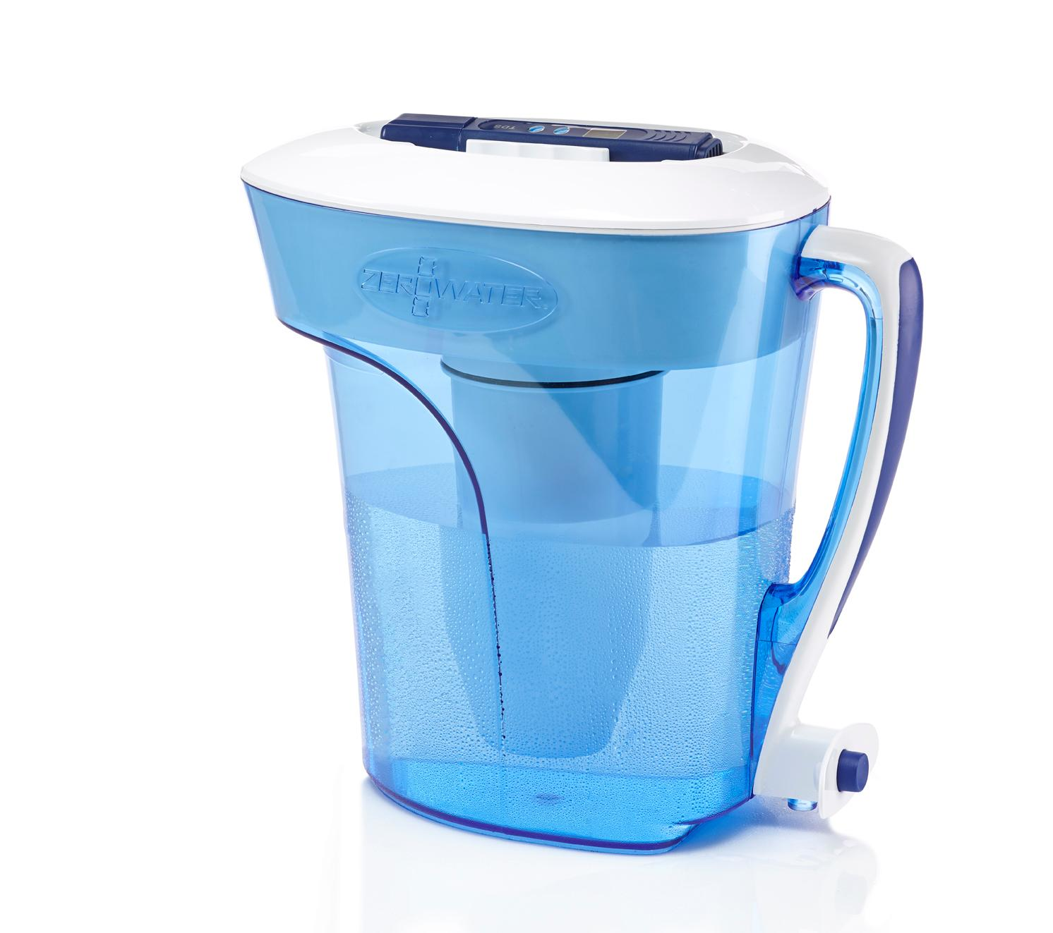 ZeroWater 10 Cup Pitcher with Free Water Quality Meter: Amazon.ca ...