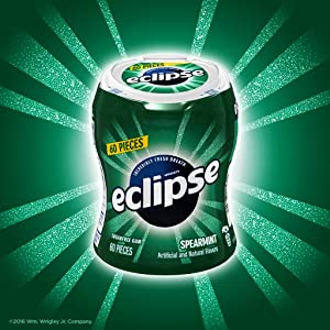 Car cup bottle of Eclipse sugarfree chewing gum