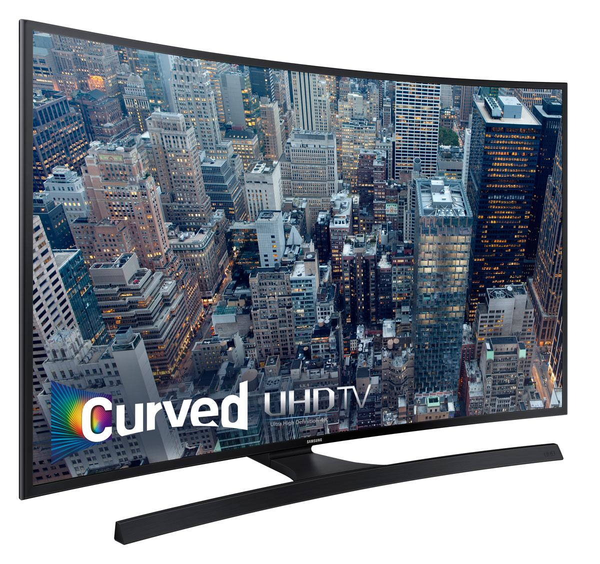 cfa1bd6e67f3f Samsung UN40JU6700 Curved 40-Inch 4K Ultra HD Smart LED TV  Amazon ...