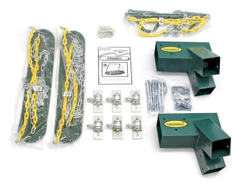 Eastern Jungle Gym Diy Swing Set Hardware Kit With Easy 1