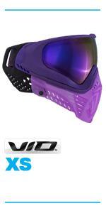 virtue vio xs thermal paintball mask goggle chromatic lens