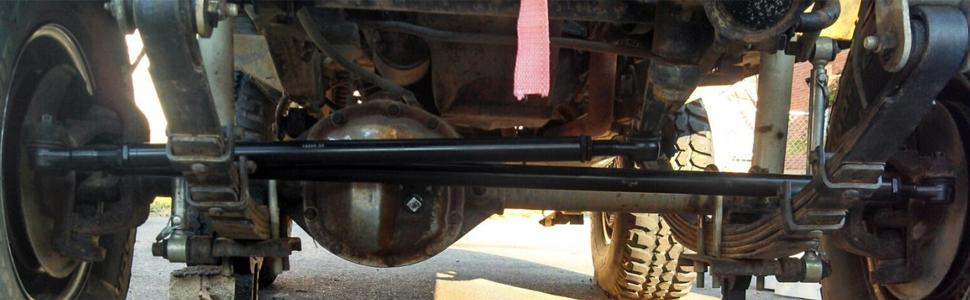 Rugged Ridge 18050 81 Complete Heavy-Duty Tie Rod and Drag Link Kit