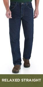 13ce7b80795 Wrangler Rugged Wear Relaxed Fit Jean · Wrangler Rugged Wear Relaxed  Straight Jean · Wrangler Rugged Wear Angler Pant · Wrangler Rugged Wear  Classic Fit ...