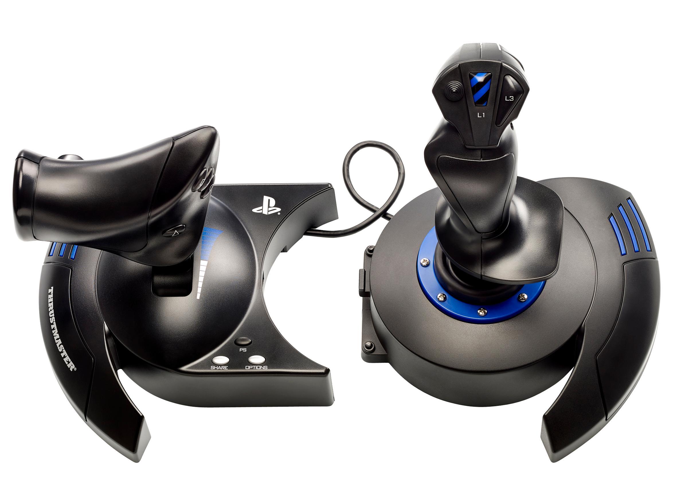 Amazon com: Thrustmaster T Flight Hotas 4 Flight Stick for PS4 & PC