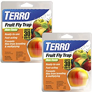 TERRO Fruit Fly Trap - 2 Pack