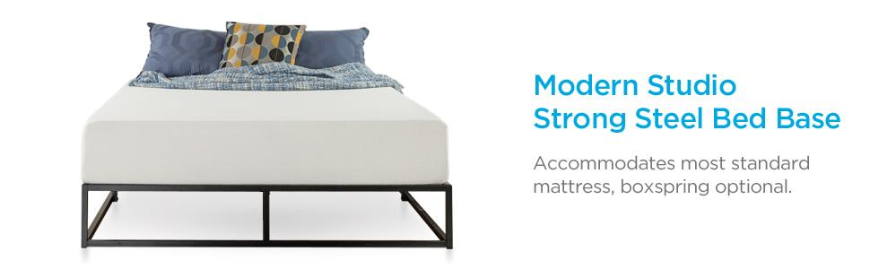 Amazon Com Zinus Modern Studio 10 Inch Platforma Low