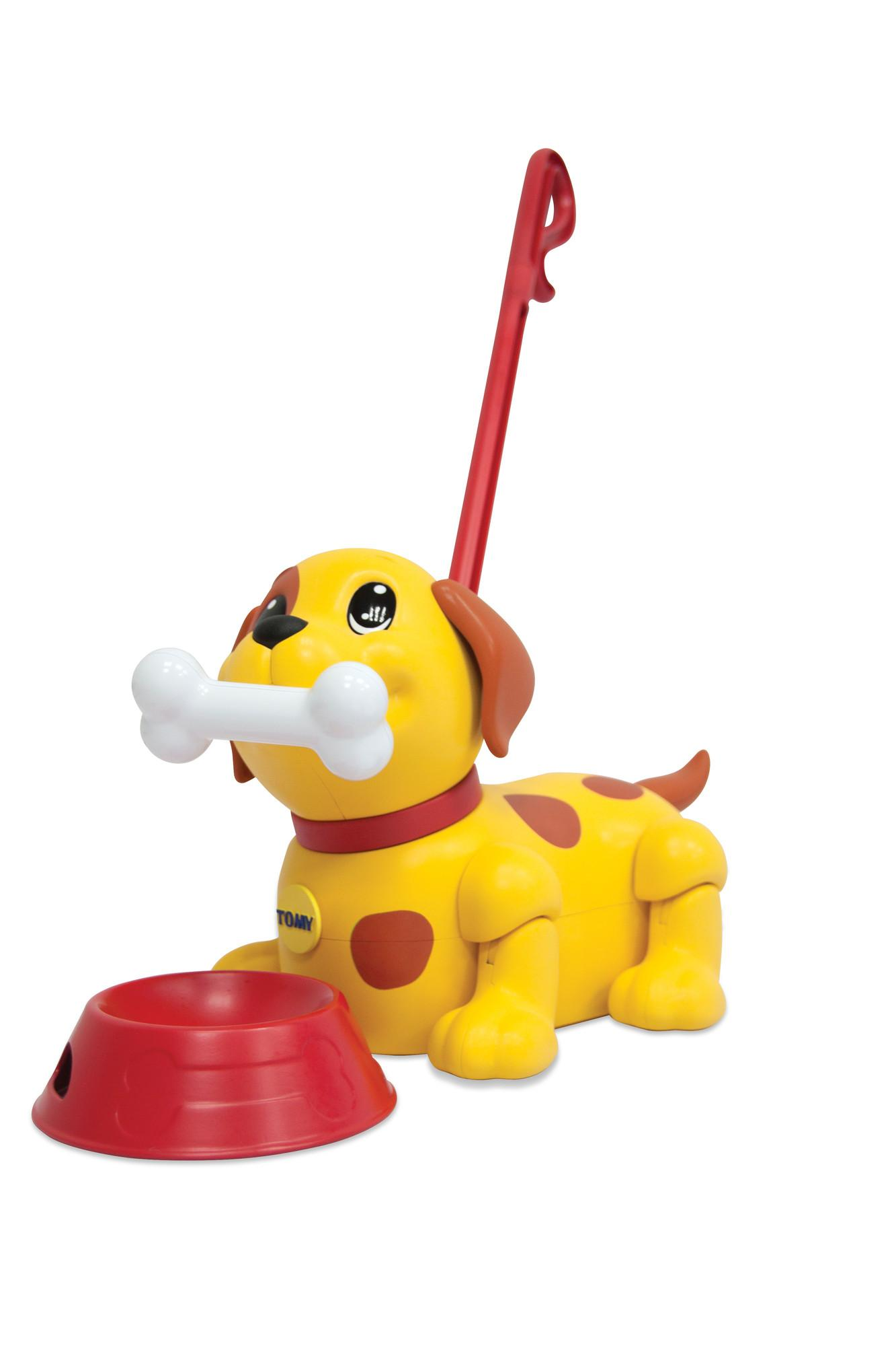 TOMY Kids Push Pull Me Puppy Toy Amazon Toys & Games