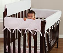 Trend Lab; Trend Lab Baby; Nursery; Protect Crib; Protect Baby; Crib Rail Guard; Crib Rail Cover