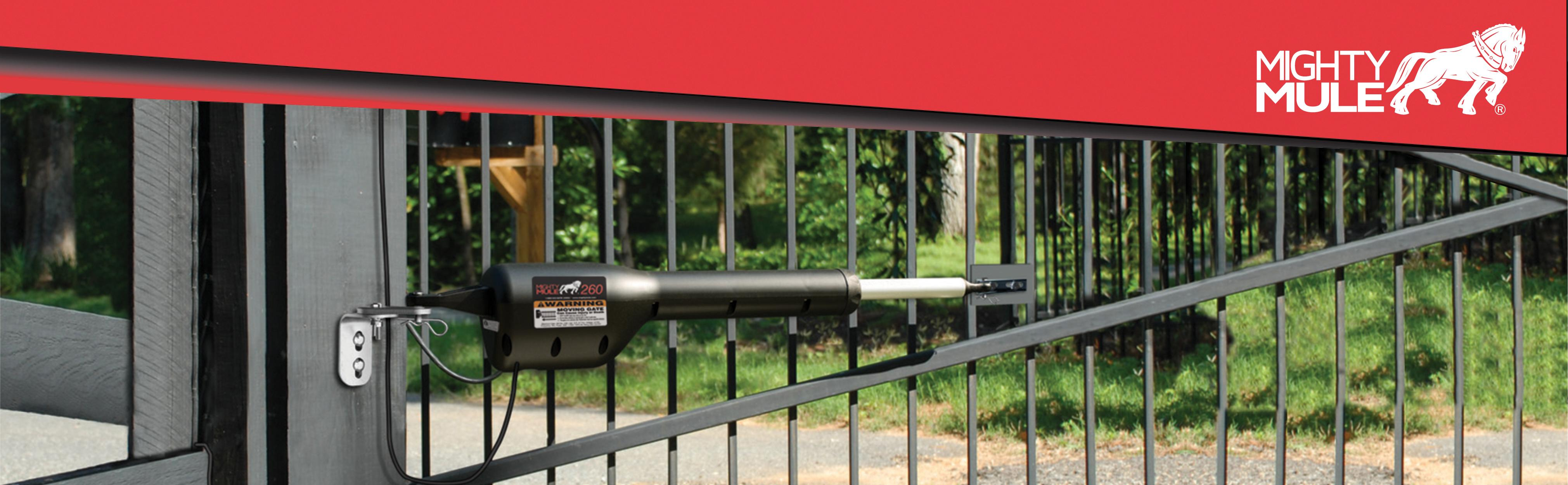 Mighty Mule Mm260 Automatic Gate Opener For Light Duty
