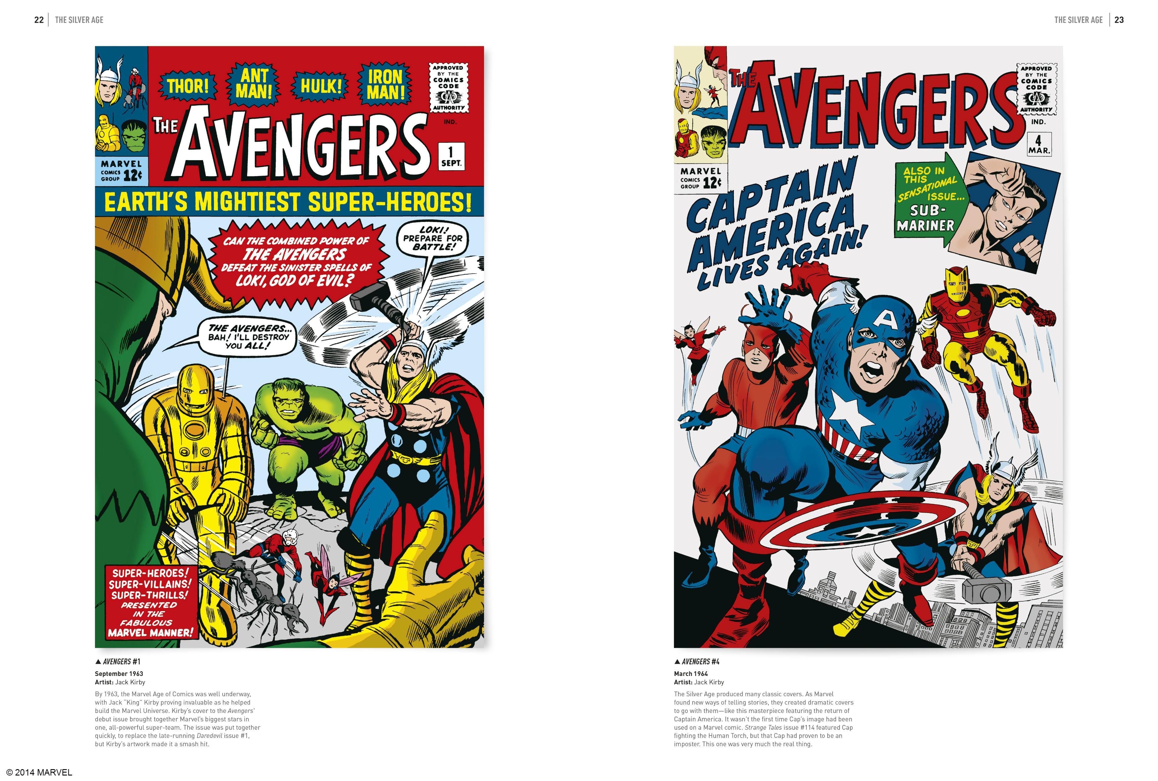 Comic Book Cover Art : Amazon marvel comics years of cover art