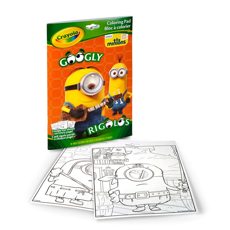 Buy Crayola Googly Eye Minions Coloring Book Online At Low