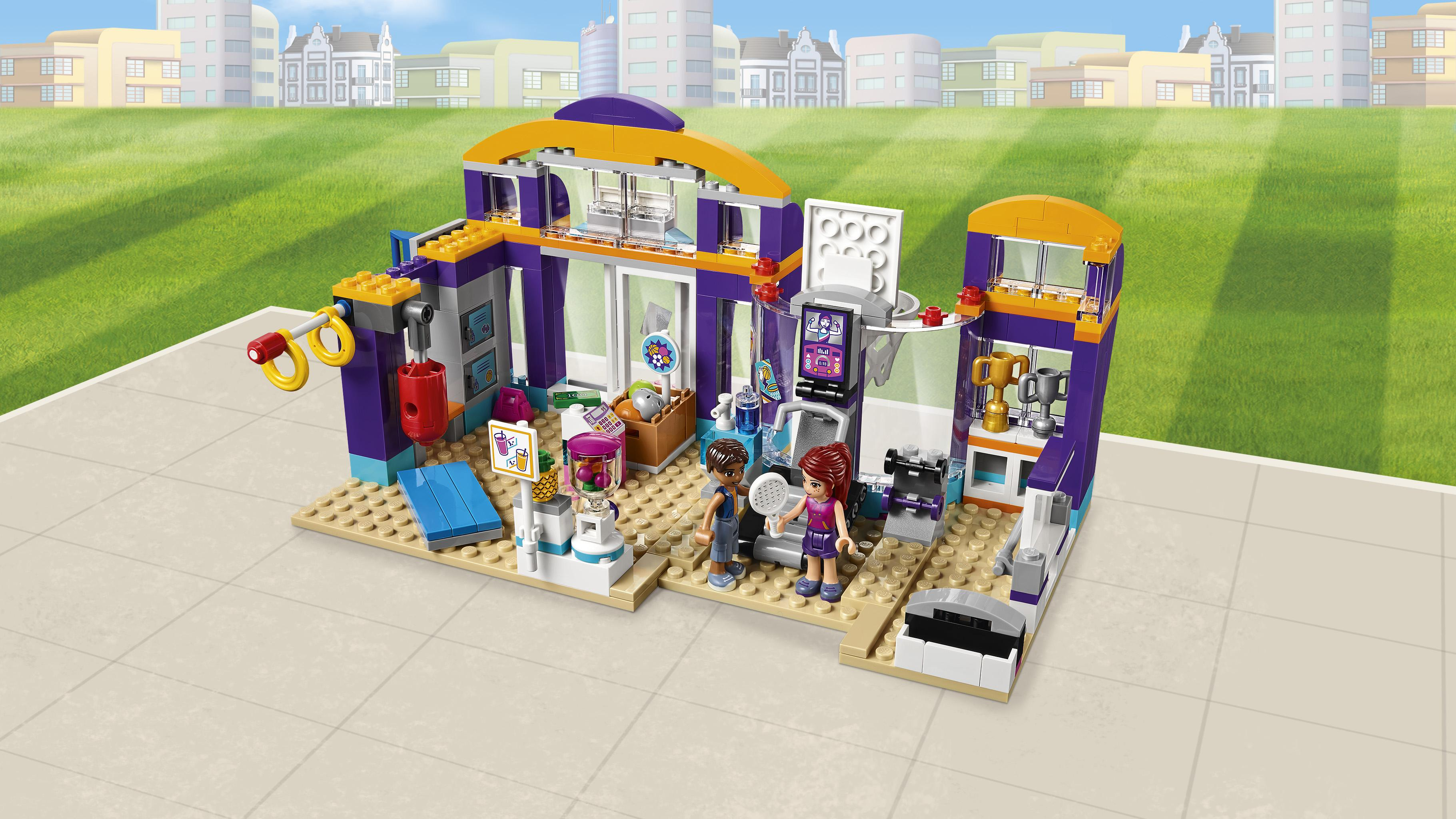 Lego Friends Heartlake Sports Center 41312 Toy For 7 Year