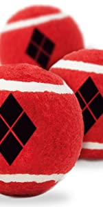 Harley Quinn Tennis Balls for Dogs