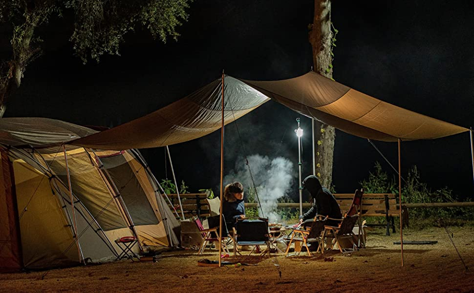 TRIWONDER Taburete Plegable Ligero Compacto Campamento para Pesca Viaje Caravana Camping