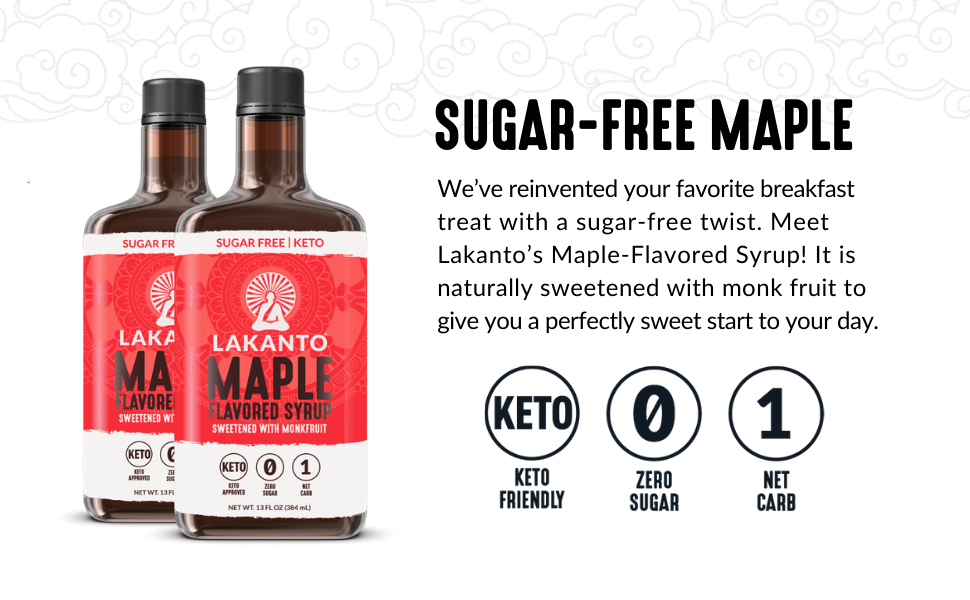 maple syrup, sugar-free, keto, low-glycemic