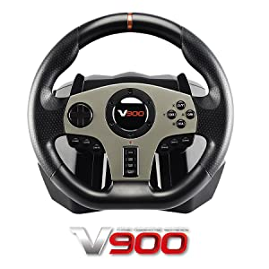 Amazon.com: Subsonic - V900 Steering Wheel with Pedals and