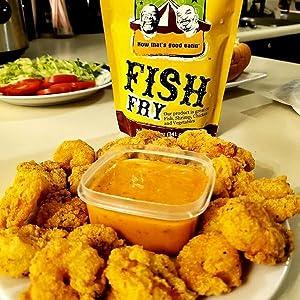 Louisiana Fish Fry Joe's Gourmet Fish Fry Seasoned batter Joe's Fish As seen on Shark Tank