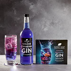 Colour Changing Gin Kit from Sandy Leaf Farm