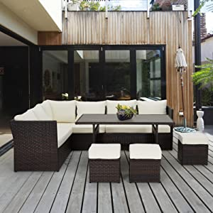 outdoor furniture sectional