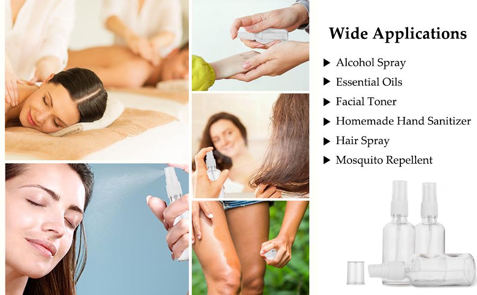 alcohol spray,essential oils spray bottle,face spray,hand sanitizer,hair spray,mosqulio repellent