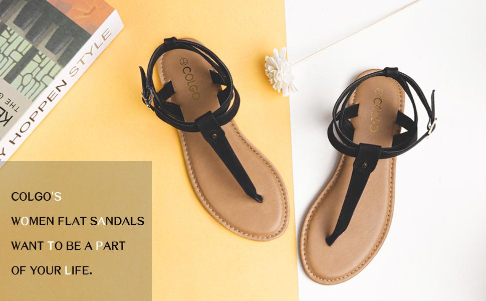 women T Strap sandals