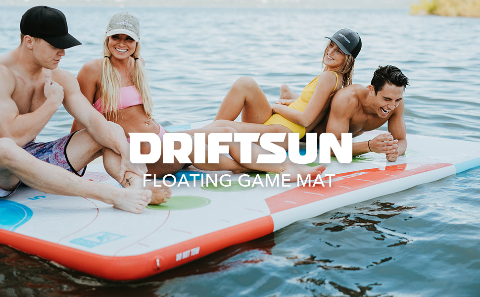 Driftsun Floating Game Mat Play Platform