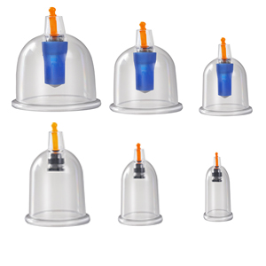 therapy set face cupping set cupping set with pump chinese cupping facial cupping massage set