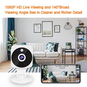 cctv camera 140° Wide Angle