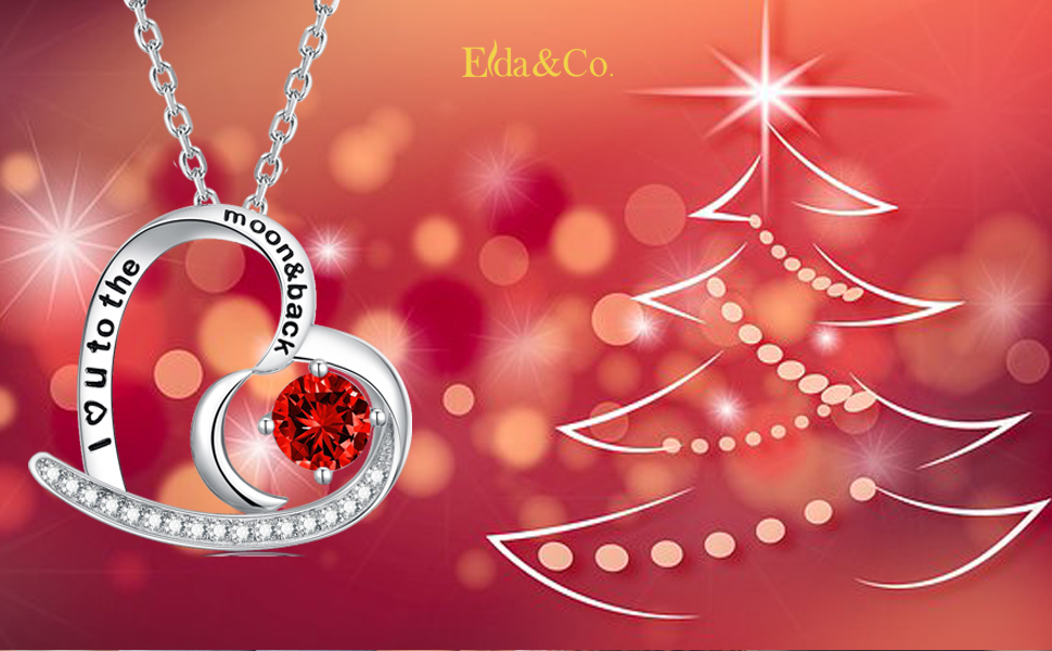 christmas necklace for women