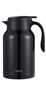 61 oz coffee carafe, carafe for ice drink, carafe for cold, keep hot,red coffee carafe