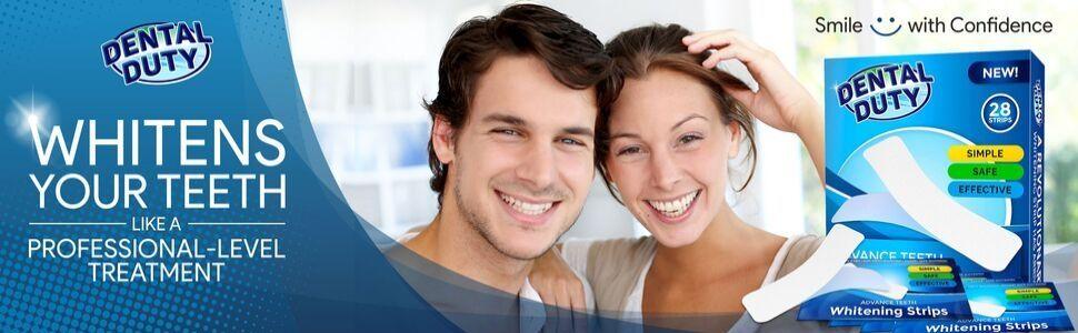 Dental Duty Whitening Strips