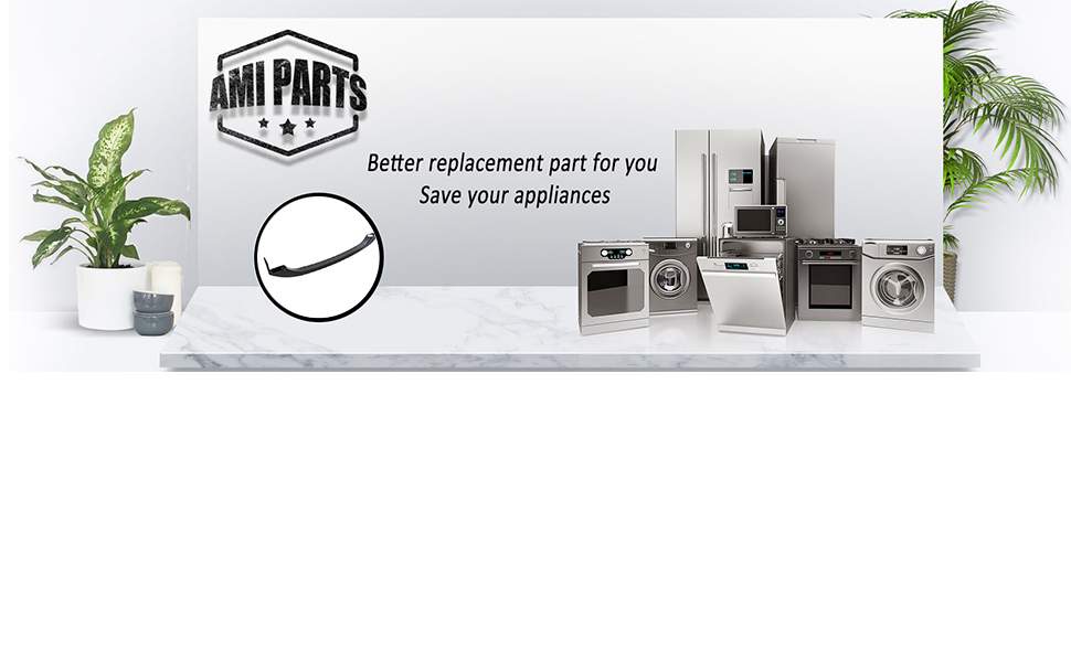 242059506,5304504509 242059503 AP6036332 218428121 Door Handles for Refrigerator By AMI,Compatible Wth Frigidaire,To Be Able To Replace 5304486361,5304504510