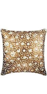 Gold Disco Balls Pillow Covers