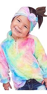Toddler girls Tie Dye Sweatshirt